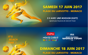 Tournoi International Monte Carlo Beach Volley 2017