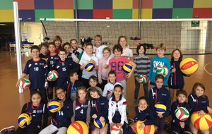 l'école de Volley