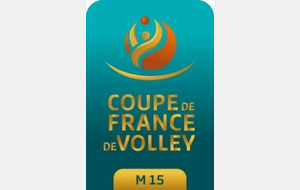 Organisation phase finale coupe de France M15M